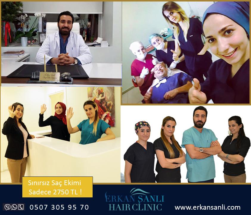 مركز إركان شانله لزراعة الشعر