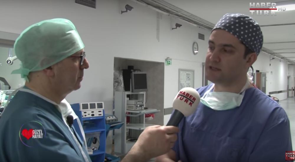 Mesane ve Rahim Sarkmasinda Robotik Cerrahi